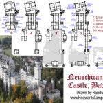 modern day castle hwbdo chateauesque house plans plan home plans