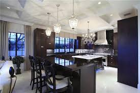 Black Kitchen Chandelier 35 Luxury Kitchens With Dark Cabinets Design Ideas Designing Idea