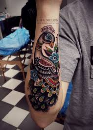 colorful peacock tattoo ideas u2013 best tattoos 2017 designs and