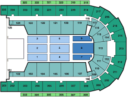 Concert Hall Floor Plan Seating Charts Boardwalk Hall