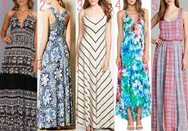 best printed maxi dresses get ready for summer with these flowing
