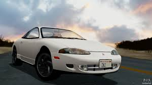 mitsubishi eclipse 1995 custom mitsubishi eclipse gst 1995 for gta san andreas