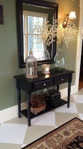 Black Entryway Table When She Told Us She Spent Just 5 On This Entryway Makeover We