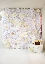 paper backdrops diy paper flower wall create make diy