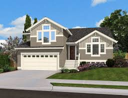 small split level house plans split level home plan for narrow lot 23444jd architectural