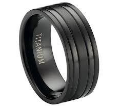 black titanium rings black titanium rings black titanium ring two raised polished bands