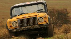 lexus v8 in defender meet the trialers land rover defender fans get down and dirty
