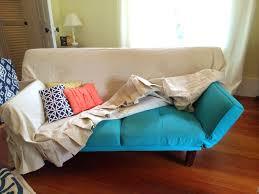 dorm room sofa small futon for on modern home decoration 13 aqua