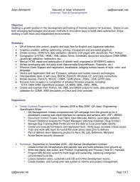 Qa Resume Sample Qa Resume Samples Qa Resume Samples Resume Cv Cover Letter Qa