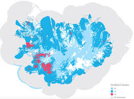 Gsm Coverage Map Usa by Three Major Cell Phone Carriers In Iceland