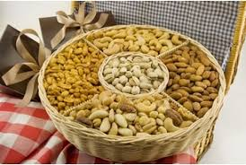 nut baskets five section nut gift basket nut gift baskets free shipping
