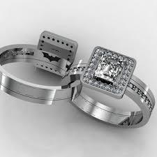batman wedding ring batman wedding ring set his and hers fineryus
