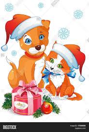 cute cartoon dog cat puppy kitten vector u0026 photo bigstock