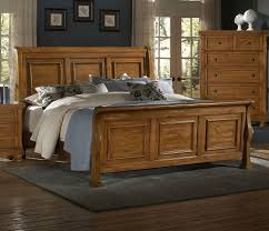reflections bedroom set vaughan bassett furniture bed buy reflections pine sleigh bed