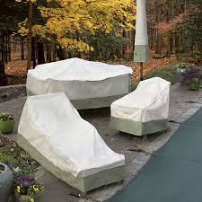 Outdoor Furniture Covers For Winter by How To Protect Your Patio Furniture During Winter Www Tidyhouse