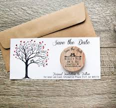 rustic save the dates best 25 rustic wedding save the date ideas ideas on