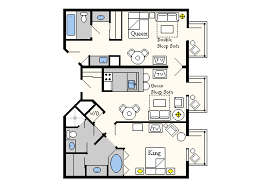 Old Key West Floor Plan Best Resort For 2 Bedroom Suite With 3 Small Kids The Dis Disney