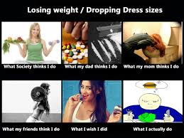 Losing Weight Meme - losing weight what people think i do what i really do know
