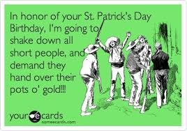 in honor of your st s day birthday i m going to shake