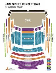orchestra floor plan seating map calgary philharmonic orchestra