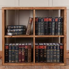 storage solid wood 4 cube storage unit for exciting bookshelves
