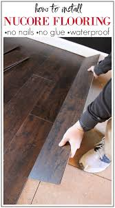 vinyl plank flooring that s waterproof lays right on top of your