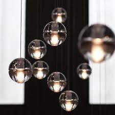 Glass Globe Ceiling Light Fixture Catchy Glass Pendant Light Led Glass Pendant