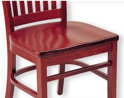Red Bar Stools With Backs Commercial Ladder Back Wood Bar Stool 9512 118 98