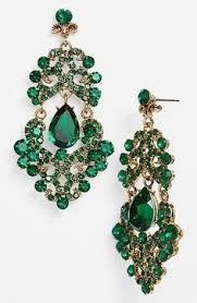 emerald green earrings emerald earrings emerald bridal earrings by eldortinajewelry