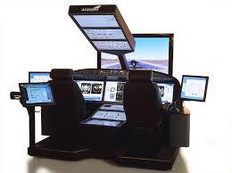 Flight Sim Desk 1 Aerospace Technology