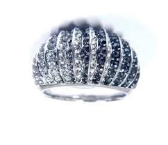 domed ring luxury domed ring black rhodium size 5 eur 50 2018 swarovski