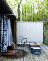 Outdoor Shower Curtains Outdoor Themed Shower Curtains Pmcshop