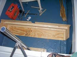 Rear Bench Seat For Boat Simple Rear Bench Seat For An Old Runabout Page 1 Iboats