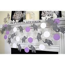 purple elephant baby shower decorations purple elephant baby shower
