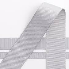 grosgrain ribbon silver grosgrain ribbon 10m by favour