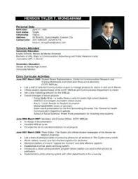 official resume format excellent official resume templates on official resume format cv