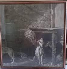andrew wyeth lithograph print raccoon ebth