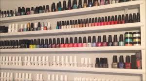 chickettes com gel nail polish stash storage u0026 work station youtube
