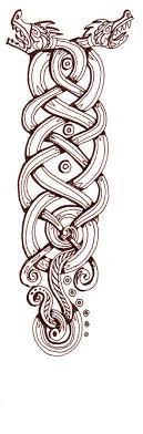 viking ornamental knots by sedeslav on deviantart