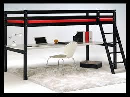 lit mezzanine noir avec bureau lit mezzanine noir avec bureau 36089 bureau idées