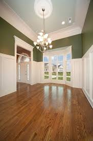 Wainscoting Ideas For Dining Room by Ideas U0026 Tips White Wainscoting Ideas With Olive Wall And Big
