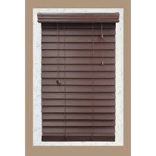 Home Decorators Co Home Decorators Collection White 2 In Faux Wood Blind 29 In W