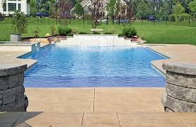 Swimming Pool Ideas For Backyard Zero Beach Entries Blue Haven Custom Swimming Pool And Spa Builders
