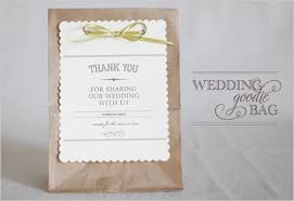 wedding treat bags diy wedding favor bags thoughtfully simple