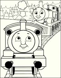 thomas the train coloring pages for toddlers color zini