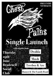 chest pains drahla mush treeboy arc hamer the family band gig at