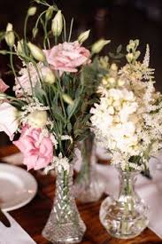Vintage Vases Wedding I Like The Way This Looks With Different Kinds Of Crystal Vases