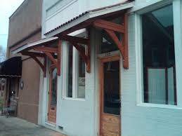 Window Awning Brackets Handmade Office Door Awnings By Moresun Custom Woodworking Inc