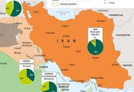 saudi arabia world map a proxy war in the middle east the maghreb and orient courier