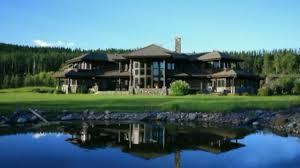 Luxury Cabin Homes America U0027s Finest Log Home Estate Youtube